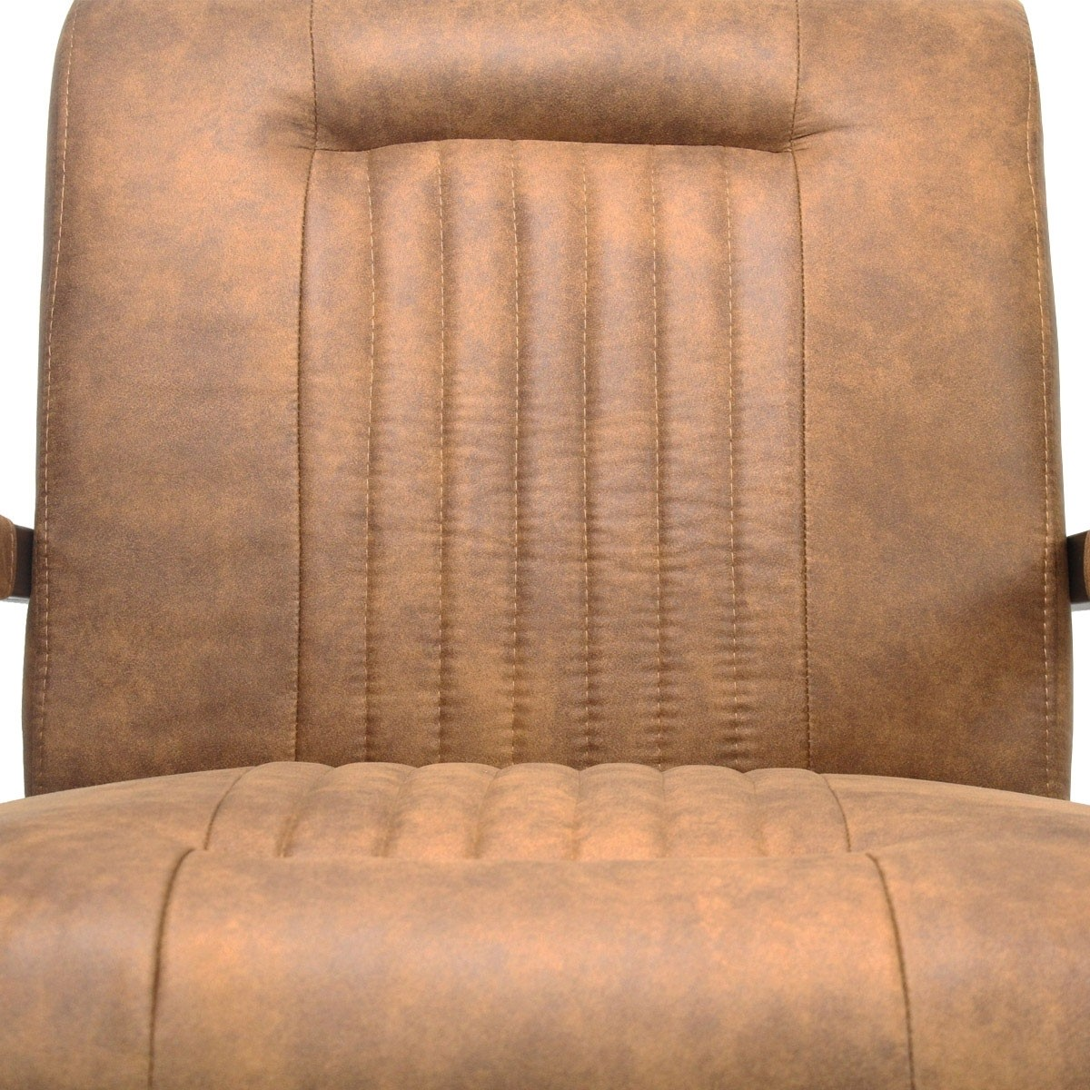 Industrieller Sessel Smoke cognac