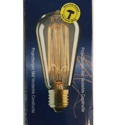 Kohlefadenlampe Global Lux 40W