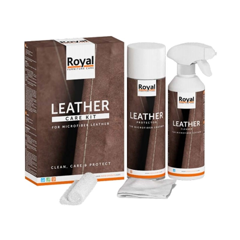 Microfiber Leather Care Kit 500 ml